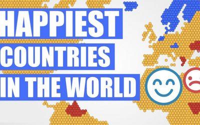 Pubblicata la classifica dei paesi più felici al mondo.